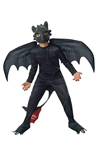Déguisement Krokmou avec masques et ailes