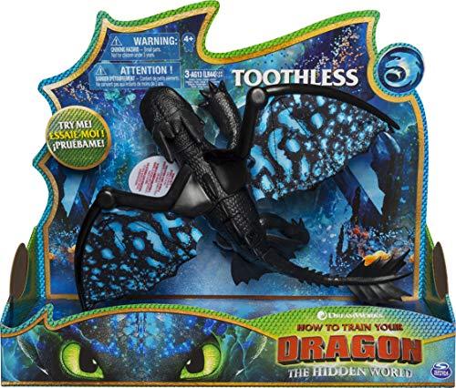 Dragon Krokmou avec ailes Lumineuse