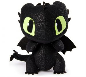 Peluche Sonore Dragons 3 Deluxe Krokmou