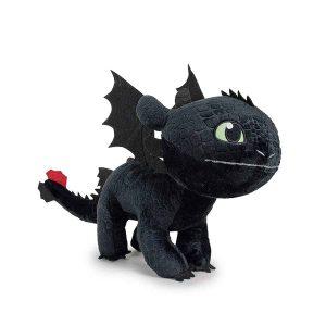 peluche dragon krokmou 26 cm
